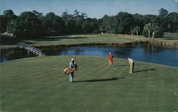 The Fifth Green on the famous Sea Island Golf Course