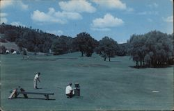 Cooperstown, N.Y. Golf Course Postcard