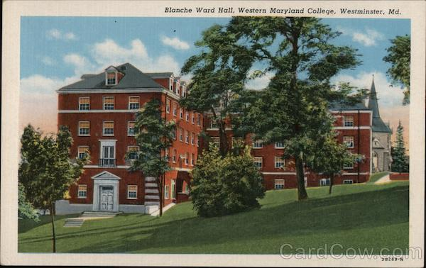 Blanche Ward Hall, Western Maryland College Westminster