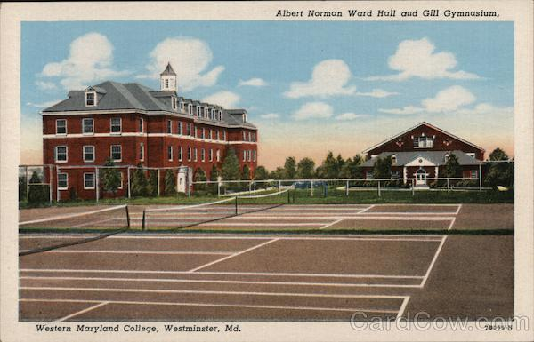 Albert Norman Ward Hall and Gill Gymnasiums, Western Maryland College Westminster