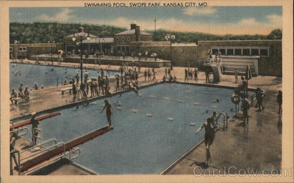 Swimming Pool, Swope Park Kansas City Missouri