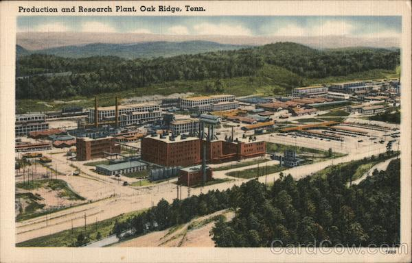 Production and Research Plant Oak Ridge Tennessee