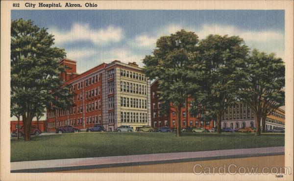City Hospital Akron Ohio