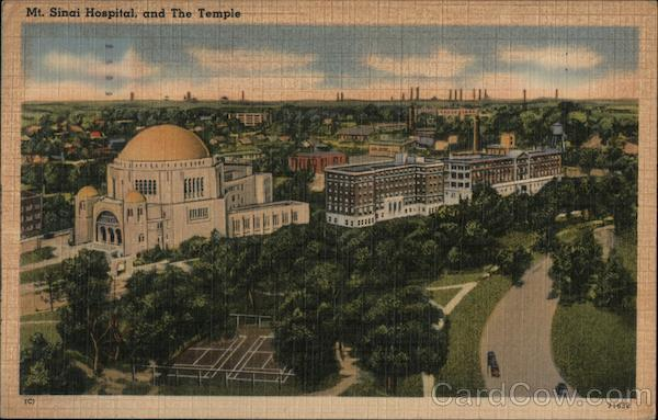 Mt  Sinai Hospital and the Temple