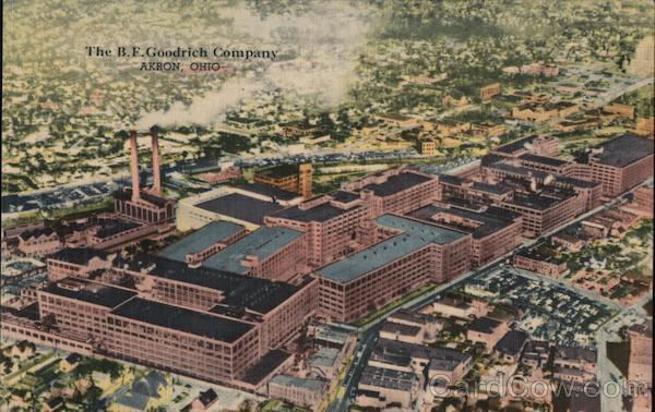 The B.F. Goodrich Company Akron Ohio