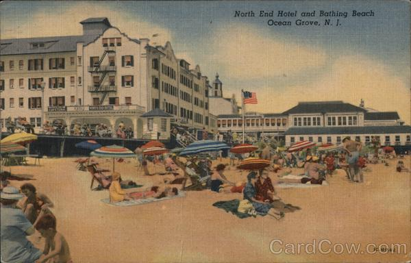 North End Hotel and Bathing Beach Ocean Grove New Jersey
