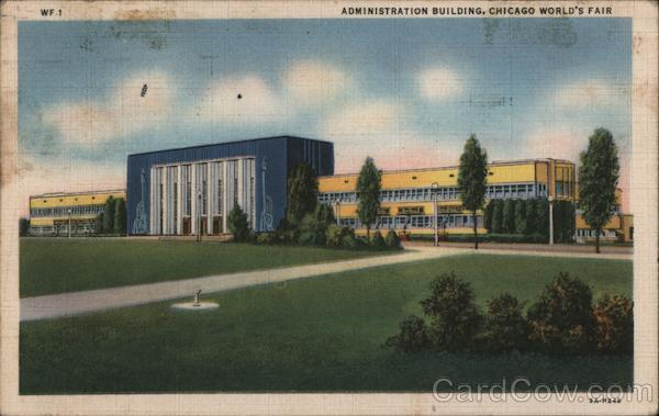 Administration Building, Chicago World's Fair Illinois