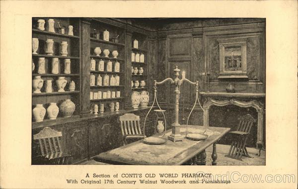 Conti's Old World Pharmacy New York