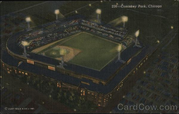 Comiskey Park, Home of the Chicago White Sox Illinois