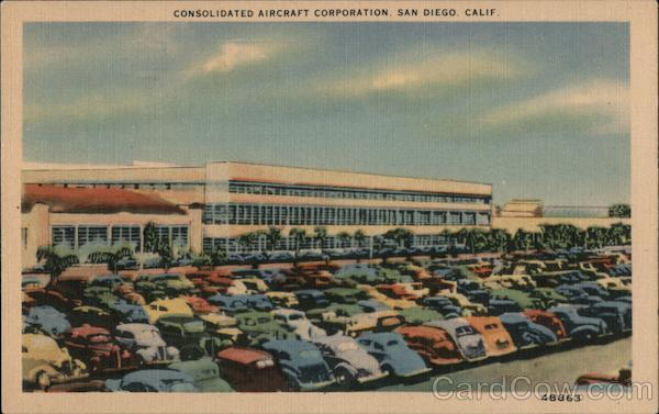 Consolidated Aircraft Corporation San Diego California