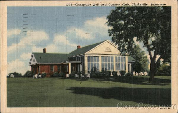 Clarksville Golf and Country Club Tennessee