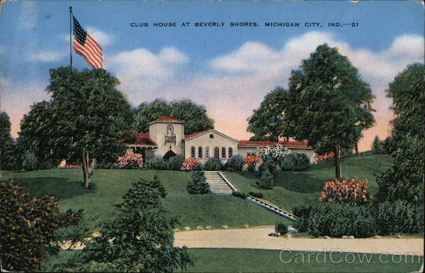 Club House at Beverly Shores Michigan City Indiana