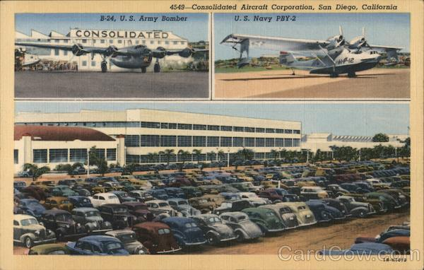 Consolidated Aircraft Corporation Views San Diego California
