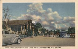 Entrance to Bright Angel Loose, Grand Canyon National Park Postcard