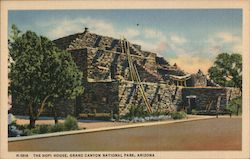 The Hopi House Postcard
