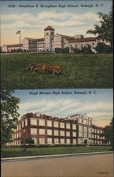 Needham B. Broughton High School and Hugh Mason High School, Raleigh, N.C.