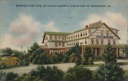 Mountain View Hotel Postcard