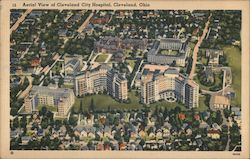 Aerial View of Cleveland City Hospital