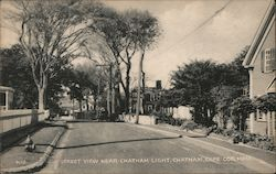 Street View near Chatham Light on Cape Cod