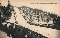 HIghest Ski Jump in the United States Postcard