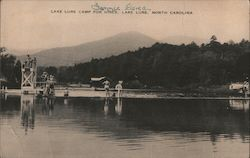 Lake Lure Camp for Girls Postcard
