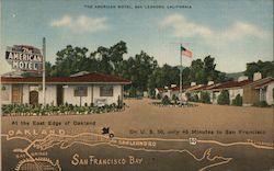 The American Motel Postcard