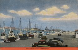 Waterfront View Postcard