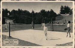 Paddle Tennis Court, The Elms