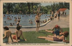Missouri's National Health and Recreation Resort Postcard
