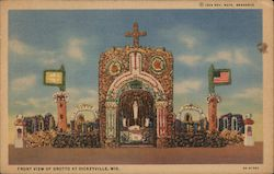 Front View of Grotto Postcard