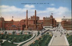 The Anheuser-Busch Plant Postcard