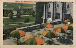 Terrace, Willard Straight Hall - Cornell University