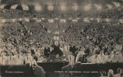 Interior of Auditorium Postcard