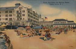 North End Hotel and Bathing Beach Postcard