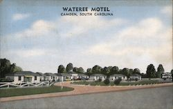 Wateree Motel Postcard