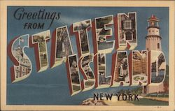 Greetings from Staten Island, New York