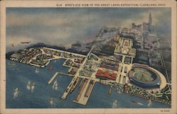 Bird's-Eye View of the Great Lakes Exposition