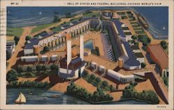 Hall of Statues and Federal Buildings, Chicago World's Fair