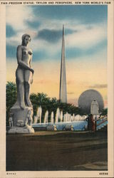 Freedom Statue, Trylon and Presiphere