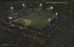 Comiskey Park, Home of the Chicago White Sox Postcard