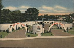 Highland Court Postcard