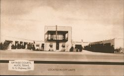Savage Courts, Located in City Limits, U.S. Highway 281 Postcard