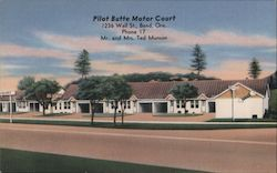 Pilot Butte Motor Court Postcard