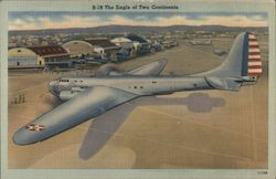 B-19, The Eagle of Two Continents Postcard