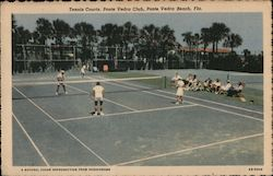 Tennis Courts, Ponte Vedra Club