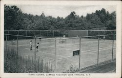 Tennis Courts, Carroll Vacation Club