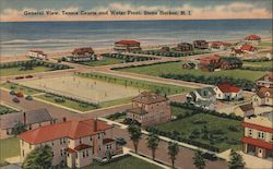 General View, Tennis Courts and Water Front