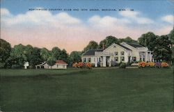 Northwood Country Club and 18th Green Postcard