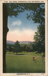 Golf course - Hendersonville Golf and Country Club