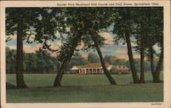 Snyder Park Municipal Golf Course and Club House